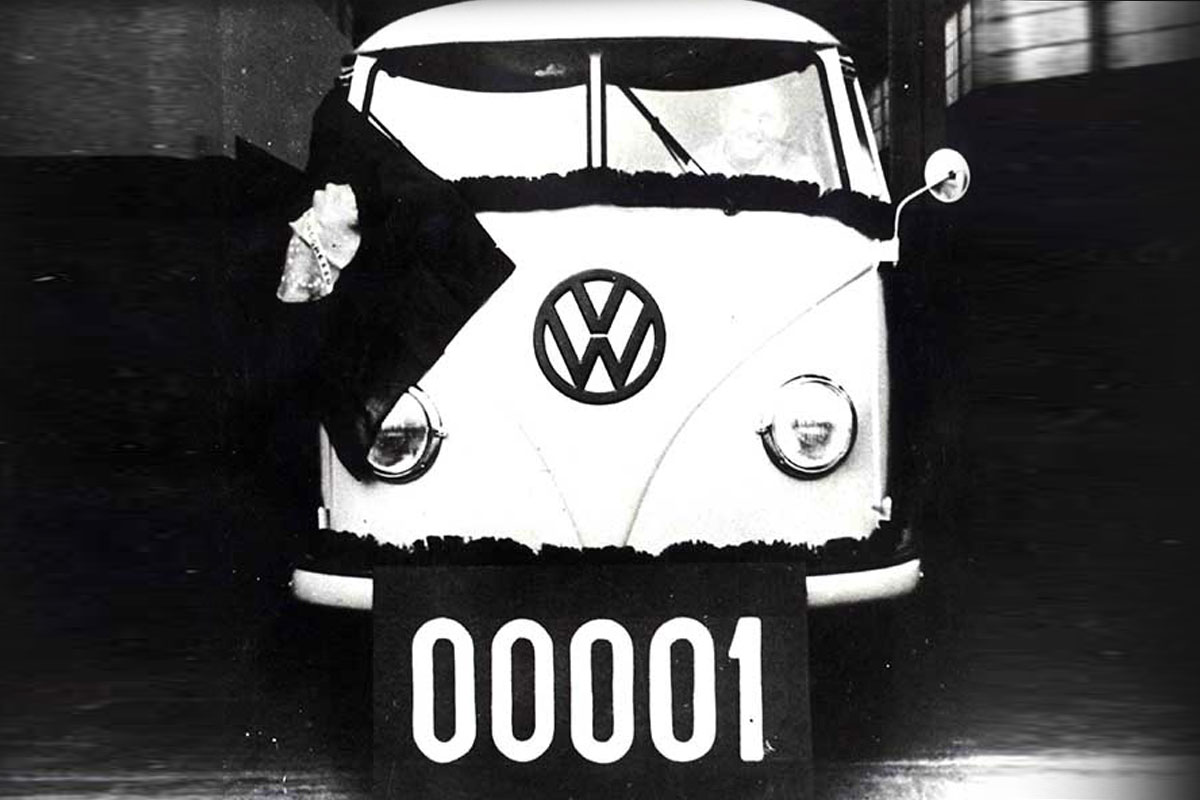 The Brazilian VW Bus Timeline
